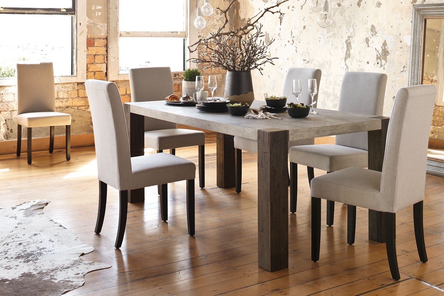 We produce high-quality dining furniture from premium materials